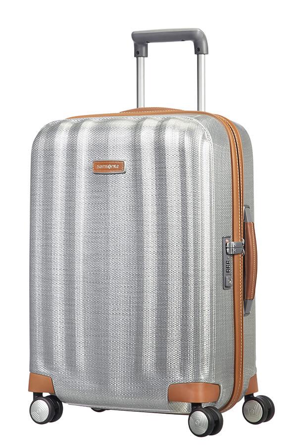Samsonite Lite-Cube DLX - 55cm - 4 hjul-Aluminum