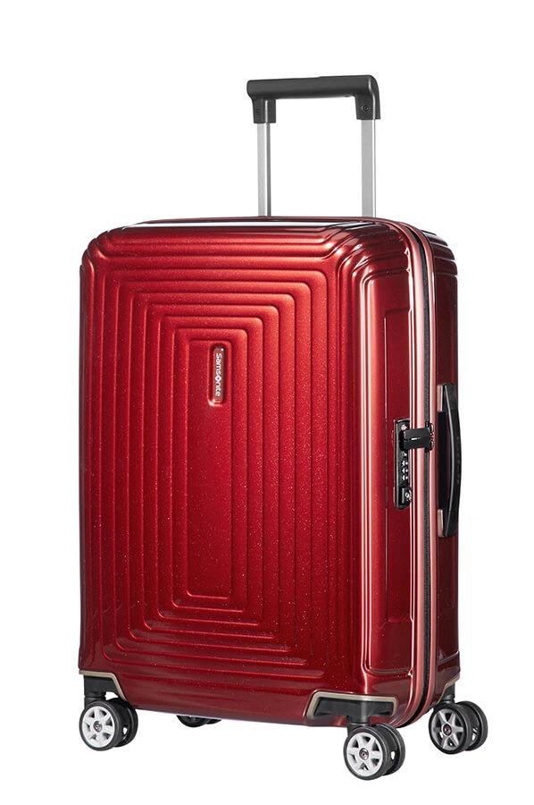 Samsonite Neopulse - 55cm - 4 hjul-Metallic Red