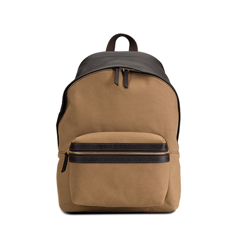 Baron Backpack - Ryggsäck i Canvas-Khaki