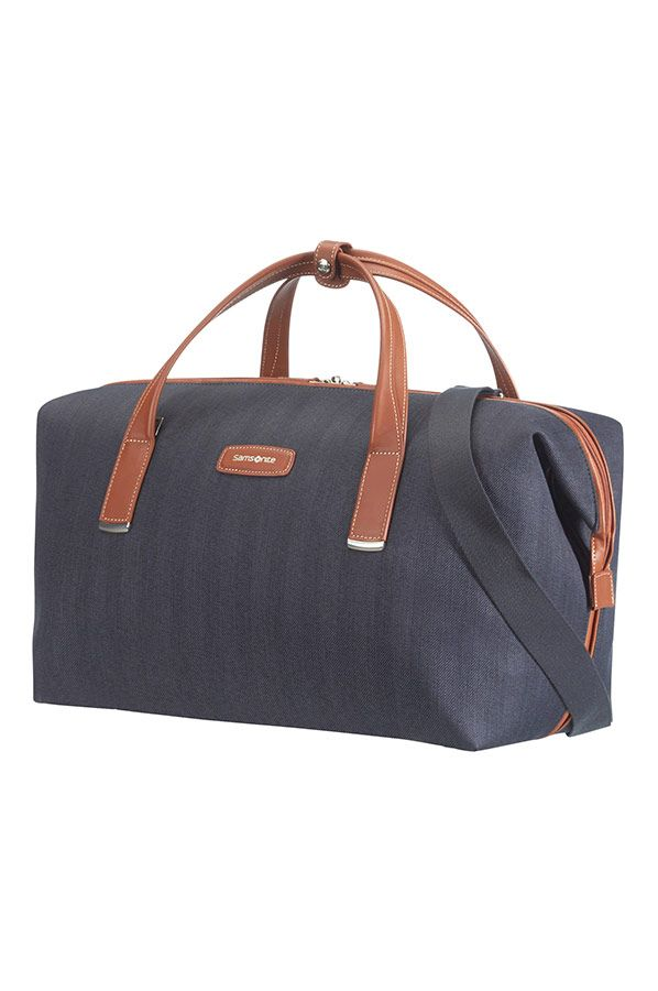 Samsonite Lite DLX Duffelväska 46cm-Midnight Blue