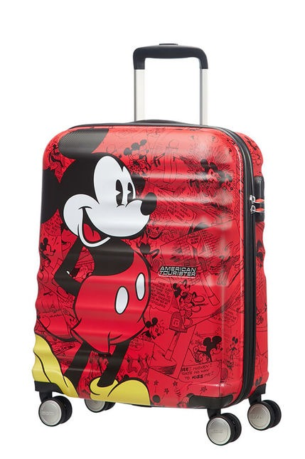 American Tourister - Wavebreaker Disney - 55 cm 4 hjul-Mickey Comics Red
